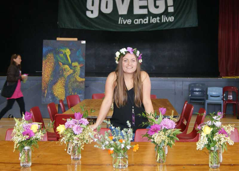 Whangarei flower girl
